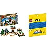レゴ(LEGO)マインクラフト クラフトボックス 2.0 21135 & クラシック 基礎板(ブルー) 10714