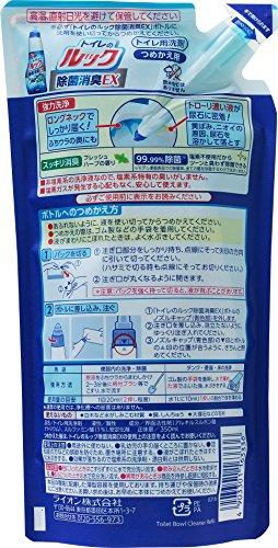 トイレのルック 便器用洗浄剤 詰替 350ml×2個パック