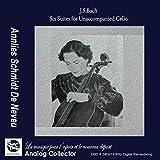 J.S.バッハ : 無伴奏チェロ組曲 全6曲 BWV1007-1012 (J.S.Bach : Six Suites for Unaccompanied Cello / Annlies Schmidt De Neveu) (2CD) [輸入盤]