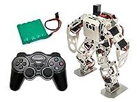 (セット) 二足歩行ロボットキット Robovie-nano(組み立てキット版) 専用バッテリー+コントローラーセット [ラジコン 人型] [vstone]