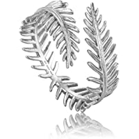 Palm Leaf Adjustable Ring