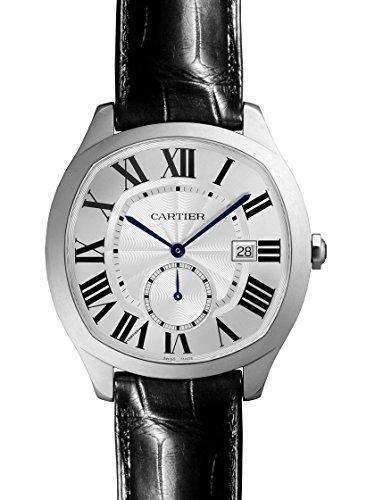 [カルティエ] CARTIER 腕時計 ドライブ ドゥ カルティエ SS/レザー シルバー WSNM0004 メンズ 新品 [並行輸入品]