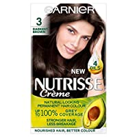 [Nutrisse] ガルニエNutrisse最も暗い茶色の永久染毛剤 - Garnier Nutrisse Darkest Brown Permanent Hair Dye [並行輸入品]