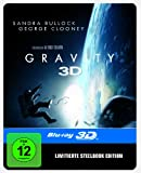 Gravity Steelbook (2D/3D) (exklusiv bei Amazon.de) [3D Blu-ray] [Limited Edition]/