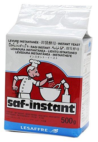 サフ インスタントドライイースト (低糖パン用赤ラベル) お徳用 500g