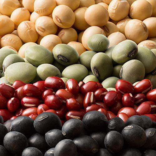米 雑穀 雑穀米 国産 豆4種ブレンド[ホール豆(小豆/大豆/黒大豆/青大豆)] 1kg(500g x2袋) 送料無料※一部地域を除く 雑穀米本舗