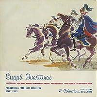 「スッペ:序曲集」軽騎兵,スペードの女王,ウィーンの朝、昼、晩,詩人と農夫,タンタロスの苦悩,他1曲