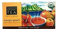 HAWAIIAN NATURAL TEA (ハワイアンナチュラルティー) 有機紅茶 ドリップバッグ 20個入 マンゴーピーチ