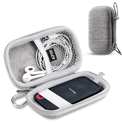sandisk ssd ケース SanDisk 外付SSD 1TB 2TB 500GB 250GB エクストリーム ポータブル 対応 専用保護用キャリングケース 旅行収納グレー