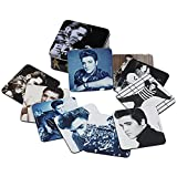 ELVIS PRESLEY コースターセット コレクターティン付 / Elvis Presley 10 pc. Coaster Set with Collector Tin