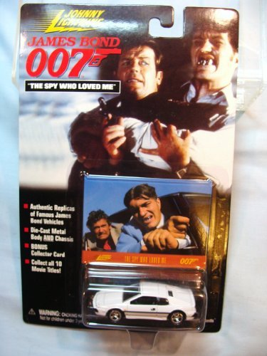 Johnny Lightning James Bond The Spy Who Loved Me Lotus Espirit S1 Turbo WHITE Coupe by Johnny Lightning [並行輸入品]