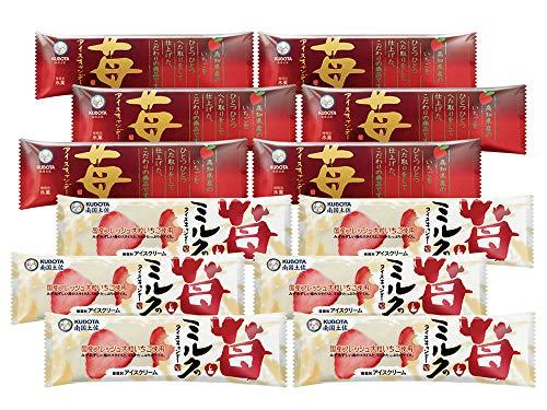 KUBOTA-B 高知県産苺アイスキャンデーセット 12本入り