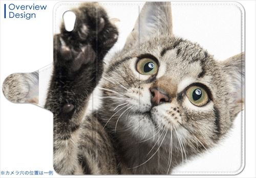 Disney Mobile ディズニーモバイル DM-02H ケース 手帳型 スマコレ 全機種対応 有り レザー 手帳タイプ 革 フリップ ダイアリー 二つ折り 横開き 革 DM02H ケース スマホケース スマホカバー アニマル 002674 Pantech パンテック&キュリテル docomo ドコモ 猫 動物 写真 dm02h-002674-nb