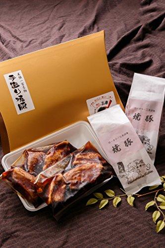美味セット 尾張一宮名物三楽自家製焼豚&豚角煮 焼豚200g×2 豚角煮150g×2