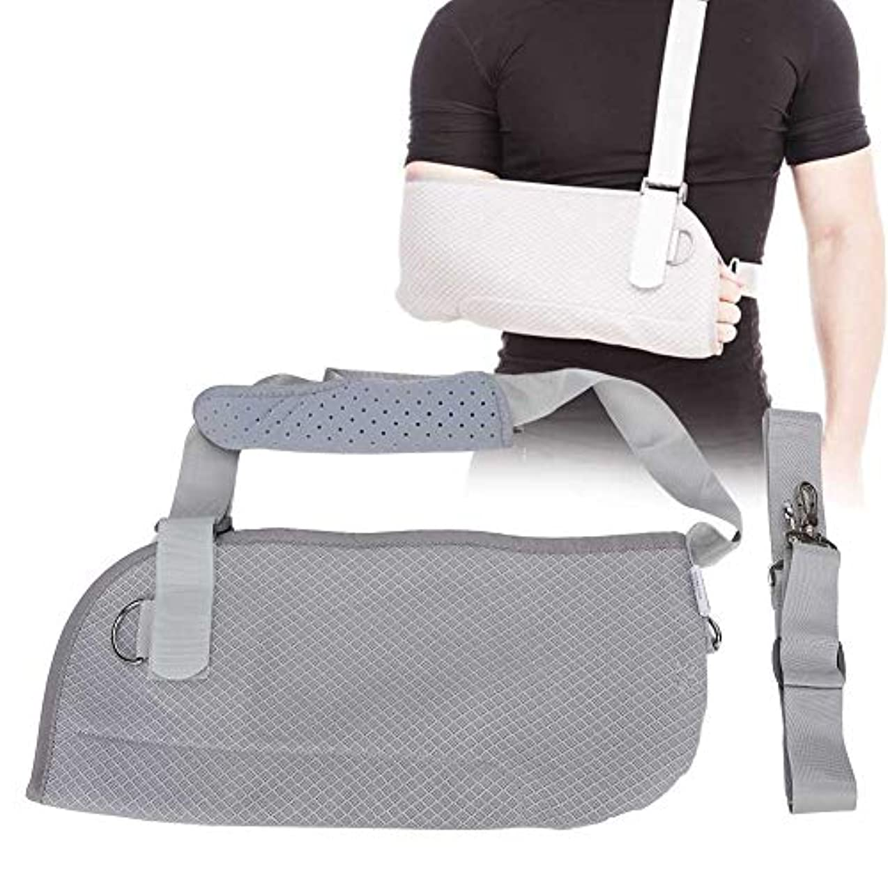 可能性トリクルデザート腕のスリング、調節可能な上腕装具、亜脱臼、脱臼、捻挫、手首の捻挫、前腕骨折治療