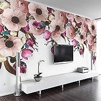 写真3D壁紙壁画手描きのつるモダンな不織布リビングルームテレビ家の装飾壁画壁紙 380cm x 240cm