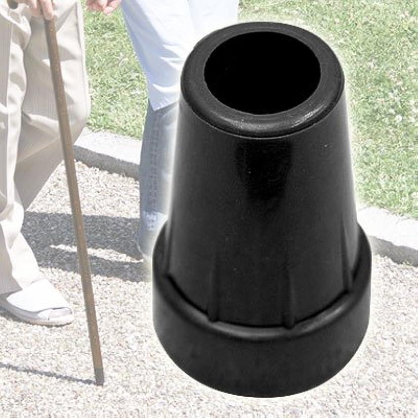 パパ間違いかまど取り替え用 愛杖先ゴム16mm 黒