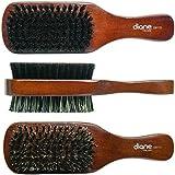 Diane 100% Boar 2-Sided Club Brush, Medium and Firm Bristles, D8115