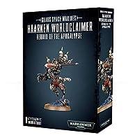 Chaos Space Marines Haarken Worldclaimer, Herald of The Apocalypse Warhammer 40,000 [並行輸入品]