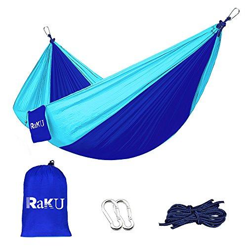 RAKU(ラク) 軽量パラシュート ハンモック 3色2サイズ ...