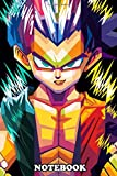 """Notebook: Dragon Ball Is A Manga And Anime By Akira Toriyama From , Journal for Writing, College Ruled Size 6"""" x 9"""", 110 Pages"""