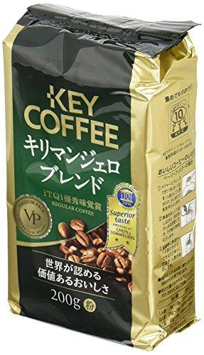 キーコーヒー キリマンジェロブレンド 粉 200g