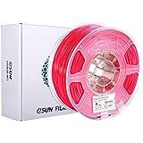 eSUN ABS Plus 3Dプリンターフィラメント ABS+ 寸法精度+/-0.05mm、1.75mm径 3Dプリン…