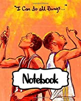 Notebook: Golden State Warriors Klay Curry Notebook Gifts for NBA Fan Cute Drawing Photo Art Incredible Soft Glossy College Ruled Fantastic with Ruled Lined Paper for Taking Notes Writing Workbook for Teens and Children Students School Kids
