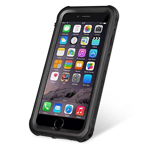 KYOKA iPhone8 ケース iPhone7ケース 防水ケース 指紋認証対応 防水 防塵 耐震 耐衝撃 IP68 アイフォン8 / 7ケース 防水カバー (iPhone8/7, ブラック)