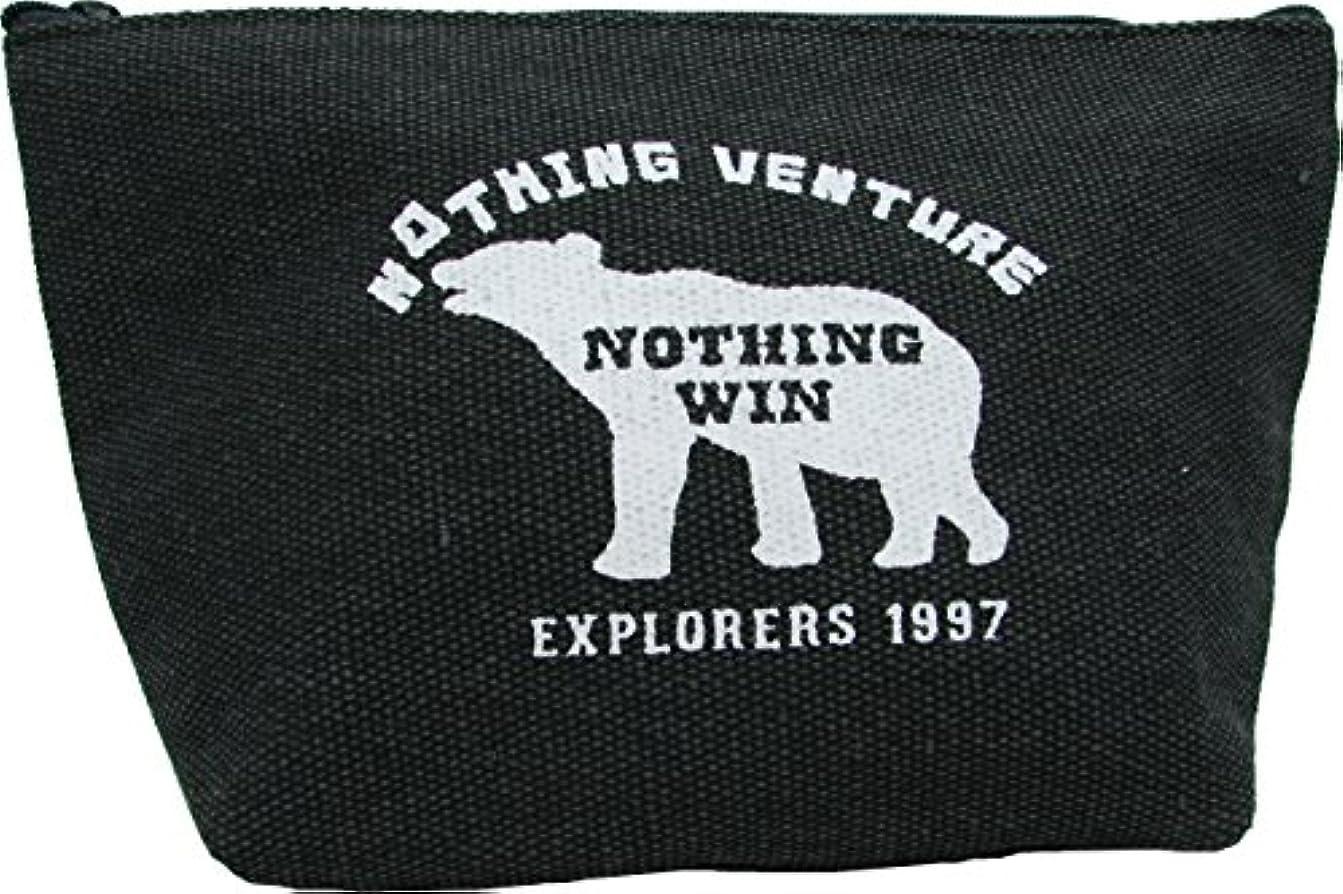 丸和貿易 エクスプローラー1997 ポーチ L ブラック 400792802
