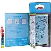 GoolRC Magic Water Drawing Book 絵本 インクなし毒性なし教育玩具 動物着色