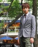 テーラードジャケット メンズ 長袖 ジャケット テーラード 1ボタン きれいめ スーツ スペード画像②