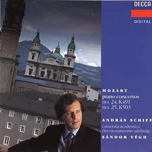 Mozart:Piano Concertos 24 & 25