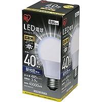 アイリスオーヤマ LED電球 E26 広配光 40形相当 昼光色 LDA4D-G-4T4