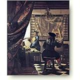ヨハネス フェルメール 画家のアトリエ アートポスター