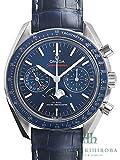 [オメガ] OMEGA 腕時計 スピードマスター ムーンフェイズ クロノグラフ マスタークロノメーター 304.33.44.52.03.001 自動巻き メンズ 新品 [並行輸入品]