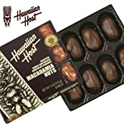 Hawaiian Host ハワイアンホースト マカダミアンナッツチョコレート TIKI スクエア4oz