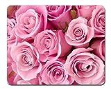ピンクのバラ(028) - マウスパッド(210x260x3mm)