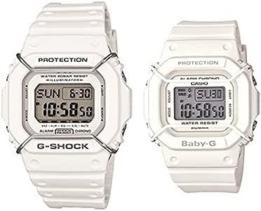 [カシオ]CASIO ペアウォッチ メンズ レディース Gショック×ベビーG ペアウォッチ ホワイト DW-D5600P-7JFBGD-501-7JF 腕時計 [正規輸入品]