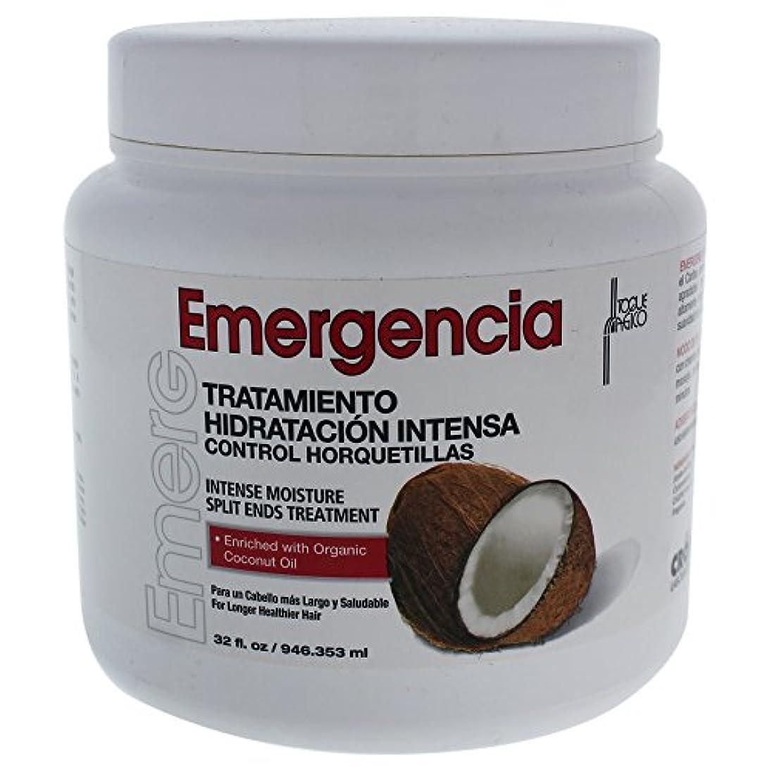 オーナー最高よろしくToque Magico Emergencia Intense Moisture Split End Mask, 32 Ounce by TOQUE MAGICO Emergencia