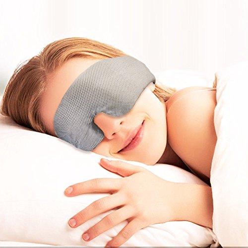 AGPtek 睡眠ヘッドフォン 睡眠ゴーグル 睡眠アイマスク スリープフォン 内蔵HDオーディオスピーカー 柔らか肌触り 不眠症の解消、旅行、瞑想