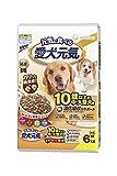 愛犬元気 10歳以上の中・大型犬用 ビーフ・ささみ・緑黄色野菜・小魚入り 6kg