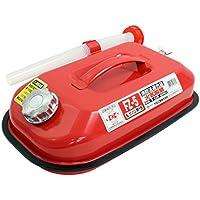メルテック ガソリン携行缶 5L 消防法適合品 KHK [亜鉛メッキ鋼鈑] 鋼鈑厚み:0.8㎜ 積重ねタイプ Meltec FZ-5