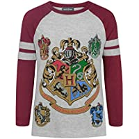 HARRY POTTER Hogwarts Girl's Raglan Long-Sleeved T-Shirt