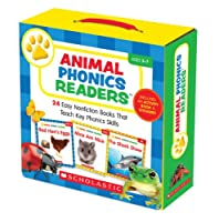 Animal Phonics Readers Parent Pack: Easy Nonfiction Books That Teach Key Phonics Skills