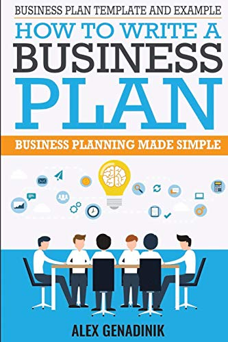 Download Business Plan Template And Example: How To Write A Business Plan: Business Planning Made Simple 1519741782