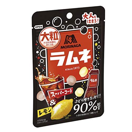 大粒ラムネ スーパーコーラ&レモン 10個