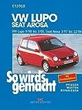 So wird's gemacht. VW Lupo 9/98 bis 3/05, Seat Arosa 3/97 bis 12/04: Benziner 1,0 l/37 kW (50 PS) ab 3/97, 1,4 l/44 kW (60 PS) ab 3/97, 1,4 l/55 kW (75 PS) ab 9/98, 1,4 l/74 kW (100 PS) ab 5/99, 1,4 l/77 kW (105 PS) ab 9/00, 1,6 l/92 kW (125 PS) ab 9/00. Diesel 1,2 l/45 kW (61 PS) ab 5/99, 1,4 l/55 kW (75 PS) ab 5/99, 1,7 l/44 kW (60 PS) ab 9/97
