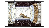 "Tsubasa Reservoir Chronicleアニメファブリック壁スクロールポスター( 32"" x 24"" )インチ。[ WP ] -tsubasa-211( L )"