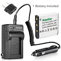 Kastar USB充電器、バッテリーfor slb-1237slb1237